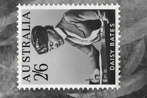 Daisy Bates Abandoned Stamp Card
