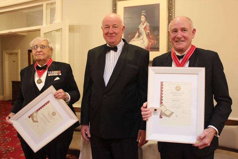 Richard Gurevitch(L), Bill Fiora (R) and John Moore (Centre)