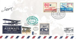 Epic Flight Cover with Singapore and Australian Stamps