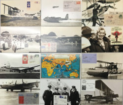 Mint set of 12 Picture Postcards plus one Generic